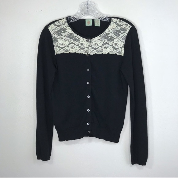 Anthropologie Sweaters - 🌺 Anthro HWR Lace Top Cardigan
